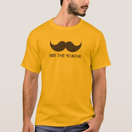 Ride The 'Stache T-Shirt