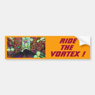RIDE THE VORTEX ! BUMPER STICKER