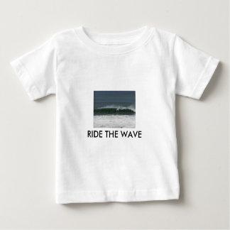RIDE THE WAVE KIDS WEAR BY WASTELANDMUSIC.COM BABY T-Shirt