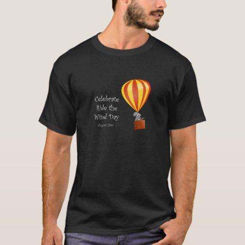 Ride the Wind Dark T_shirt