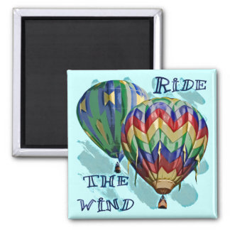Ride The Wind Refrigerator Magnet