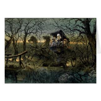 "Ride Through Presidential ""Haunted Forest"" Keppler Card"