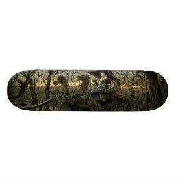 "Ride Through Presidential ""Haunted Forest"" Keppler Skateboard Deck"