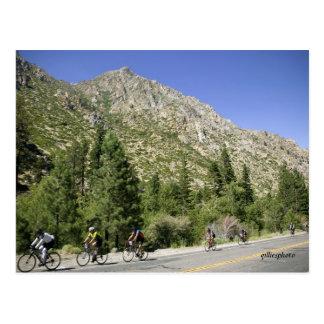 Ride Through the Alps Postcard