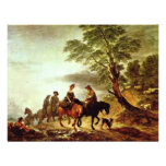 Ride To The Market By Thomas Gainsborough ( Personalized Announcements