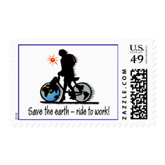Ride to Work Postage