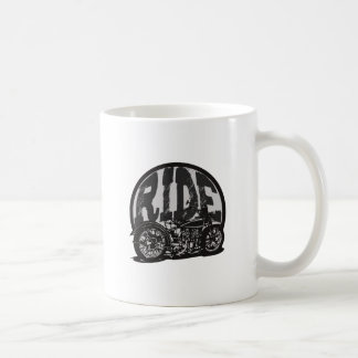 Ride Vintage Motorcycle Coffee Mug