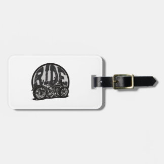 Ride Vintage Motorcycle Tag For Bags