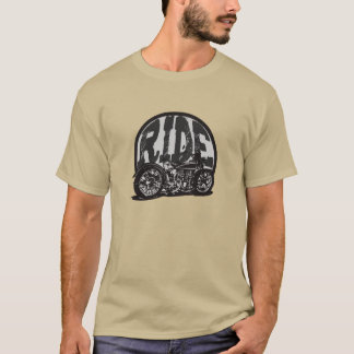 Ride Vintage Motorcycle T-shirt