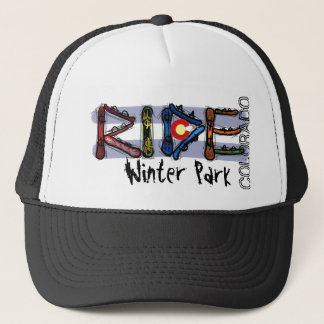 Ride Winter Park Colorado snowboard hat