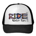 Ride Winter Park Colorado snowboard hat