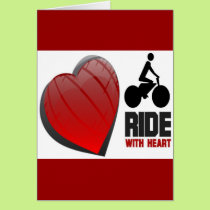 RIDE WITH HEART CARD