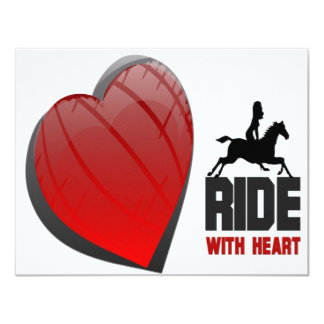 RIDE WITH HEART PRODUCTS CARD