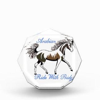 Ride with Pride Acrylic Award