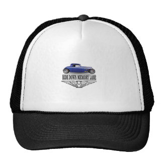 ride with pride blue trucker hat