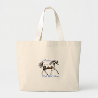 Ride with Pride Large Tote Bag