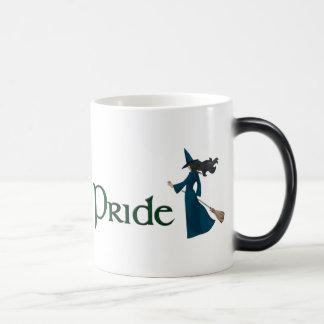 Ride with Pride 11 Oz Magic Heat Color-Changing Coffee Mug