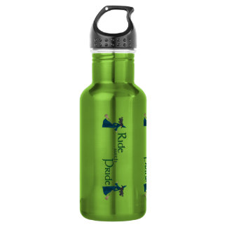 Ride with Pride 18oz Water Bottle