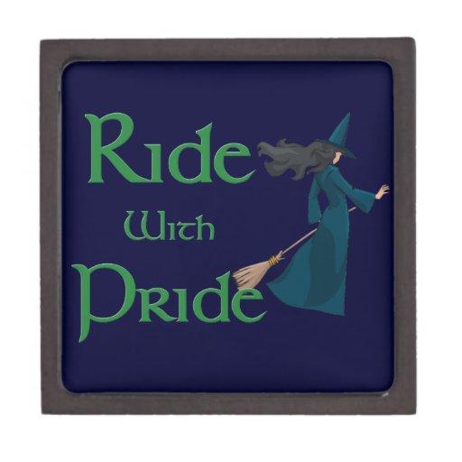 Ride with Pride Premium Trinket Box