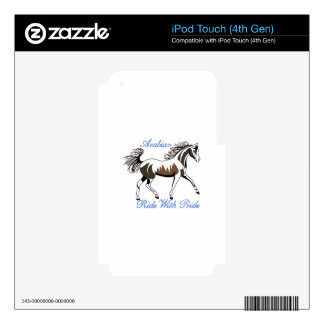 Ride with Pride Skin For iPod Touch 4G