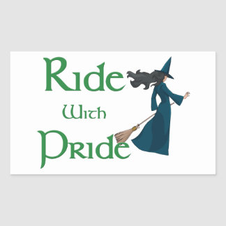Ride with Pride Stickers