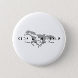 Ride with Style Pinback Button