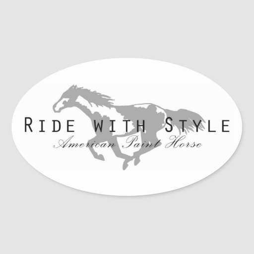 Ride with Style Stickers