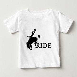 RIDE with the cowboy Baby T-Shirt