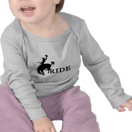RIDE with the cowboy T-shirt
