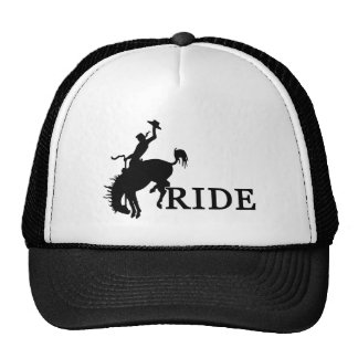 RIDE with the cowboy Trucker Hat