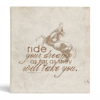 Ride Your Dreams Binders