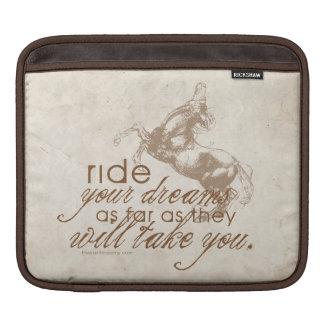 Ride Your Dreams iPad Sleeve