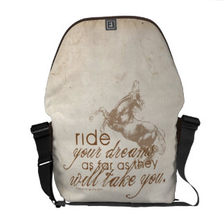 Ride Your Dreams Messenger Bags
