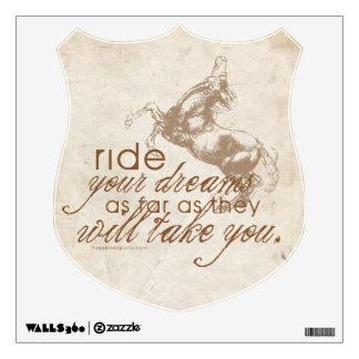 Ride Your Dreams Room Graphics