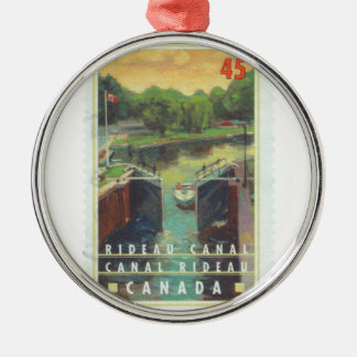 Rideau Canal Metal Ornament