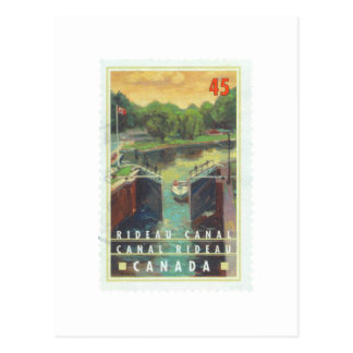 Rideau Canal Postcard