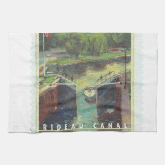 Rideau Canal Towel