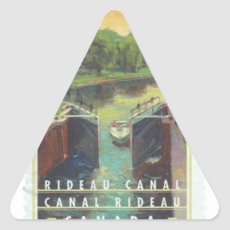Rideau Canal Triangle Sticker