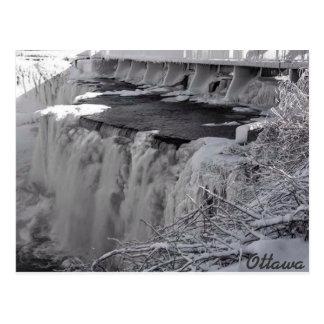 Rideau Falls Ottawa Postcard