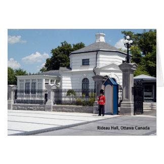 Rideau Hall  Card
