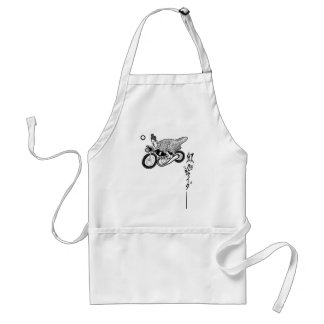 rider adult apron