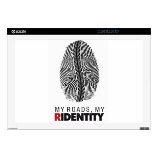 "Rider Identity Skin For 17"" Laptop"