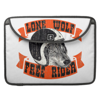 Rider lone wolf sleeve for MacBooks