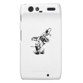 Rider on Rodeo Bull Droid RAZR Cover