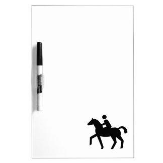 Rider Sign Dry-Erase Whiteboards