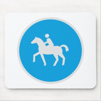 Rider Sign Mouse Pad