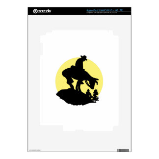 Rider Silhouette Skins For iPad 3