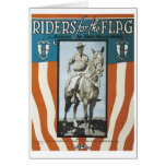 Riders For The Flag Vintage Songbook Cover Card