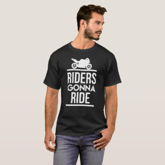Riders Gonna Ride GP- Motorcycle t shirt