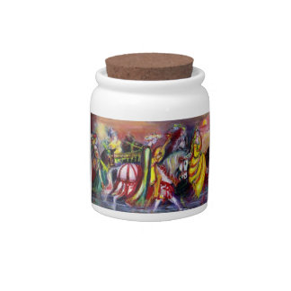 RIDERS IN THE NIGHT CANDY JAR